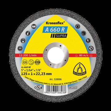 Disc debitare Kronenflex A960 TZ Special, 125 x 1 x 22,23 pentru inox