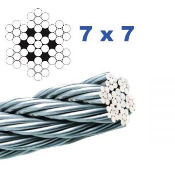 A7904-100 Cablu inox AISI316 Ø4 mm Lungime 100 metri
