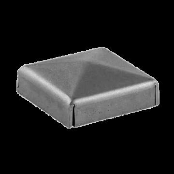 S4006 Capac din tabla pentru teava ☐ 100x100 mm