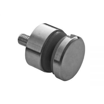 A746 Conector lateral inox AISI304 Distantier 15 mm Grosime sticla 6-16 mm Finisaj: Satinat