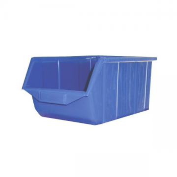 Q407 Cutie plastic oranizatoare, Albastru, 230x350x165 mm