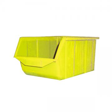 Q407 Cutie plastic oranizatoare, galben, 230x350x165 mm