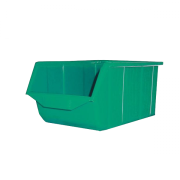 Q407 Cutie plastic oranizatoare, Verde, 230x350x165 mm