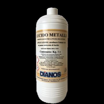 Solutie intretinut si curățat inoxul lucido metalli