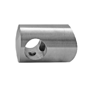 A8342 Prindere laterala pentru teava de Ø 12mm, prindere Ø 42,4 mm material INOX AISI304 finisaj satinat