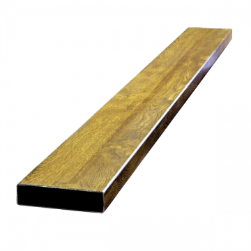 Profil sipca 100x25x6000 mm, culoare: stejar auriu, stejar, nuc